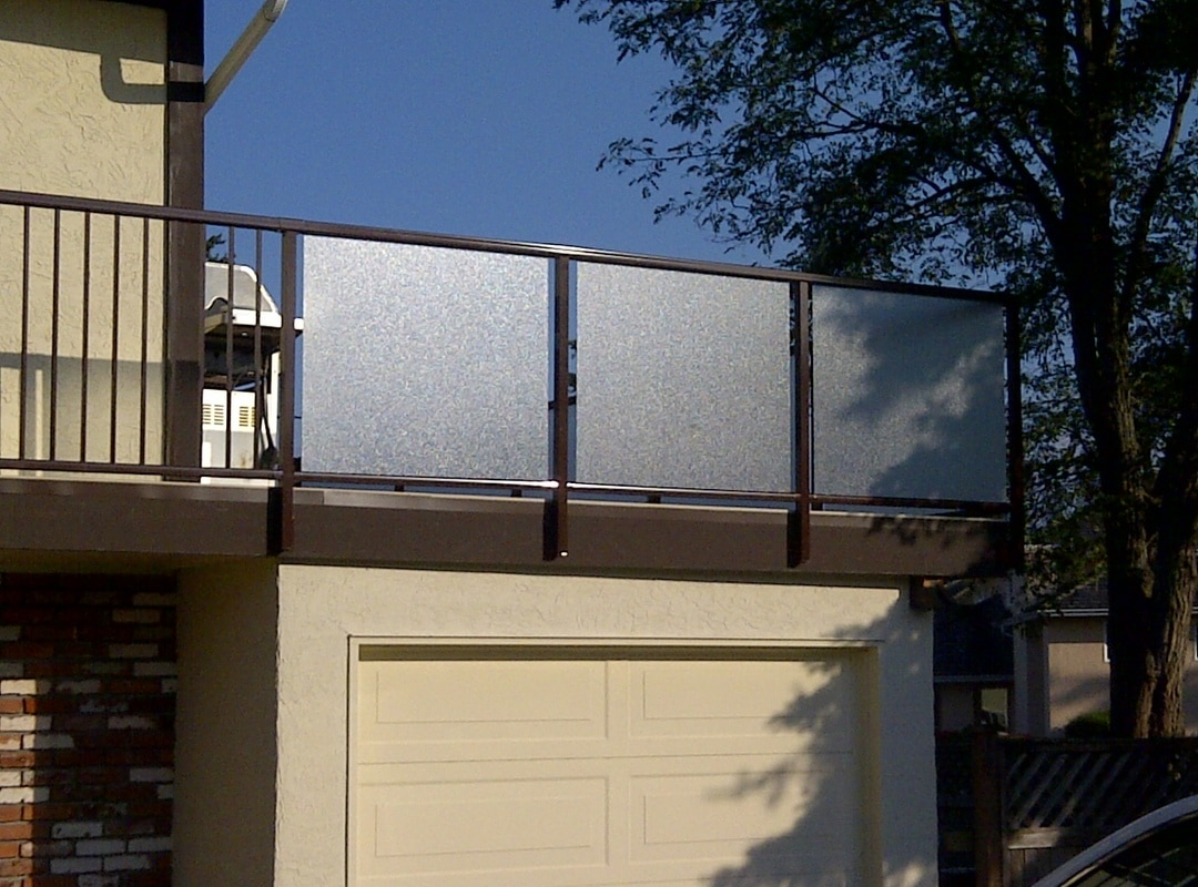 Ace Vinyl Deck For Aluminum And Glass Railings Victoria